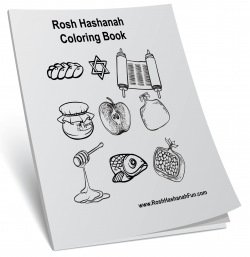 Rosh Hashanah Coloring Book