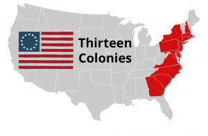 Thirteen Colonies Printable