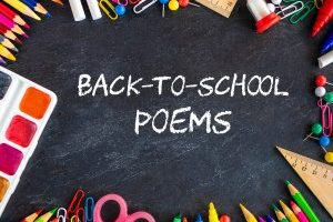 Back-to-School Poems Printable